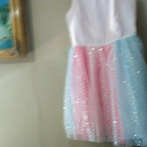 Cat and Jack tutu dress with sparkles. New